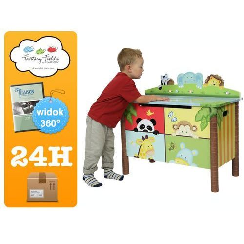 Towar z kategorii: skrzynki i walizki narzędziowe - Skrzynia na zabawki z serii Sunny Safari Toy Box Safari F