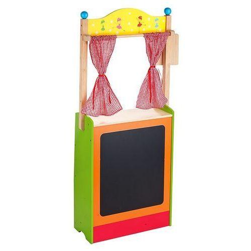 Oferta Kolorowy sklep drewniany i teatrzyk dla przedszkolaków w jednym (pacynka, kukiełka)