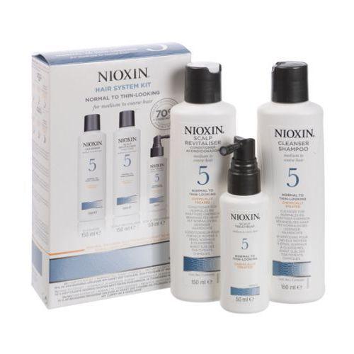 Nioxin zestaw pielęgnacyjny System 5 włosy grube zniszczone po zabiegach - szczegóły w dr włos