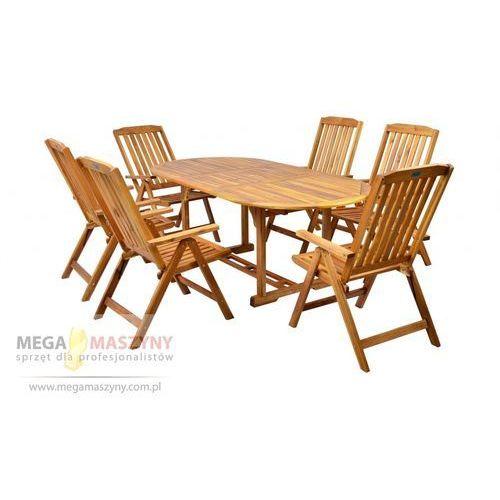 HECHT Zestaw mebli ogrodowych stół + 6 krzeseł Leader Set od Megamaszyny - sprzęt dla profesjonalistów