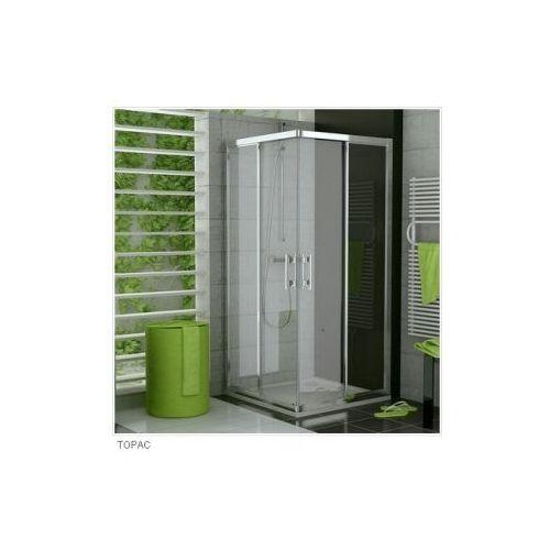 SANSWISS TOP LINE Wejście narożne z drzwiami rozsuwanymi TOPAC (drzwi prysznicowe)