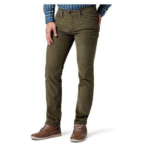Levi's® 4511 511 Slim Burnt Olive Corduroy - produkt z kategorii- spodnie męskie