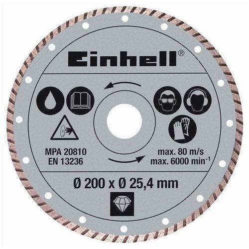 Einhell Tarcza diamentowa TURBO 200x25,4 mm do cięcia TPR 200/2, RT-SC 560 U 4301175 ze sklepu Avionpark