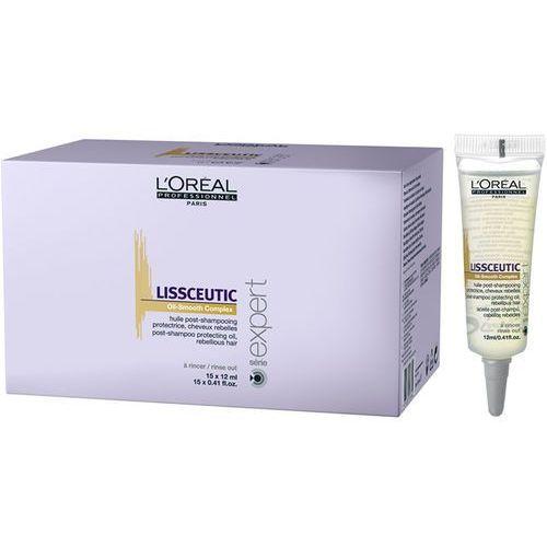 Loreal Liss Unlimited LissCeutic - kuracja wygładzająca 15x12ml(dawny Liss Ultime) - produkt z kategorii- odżywki do włosów