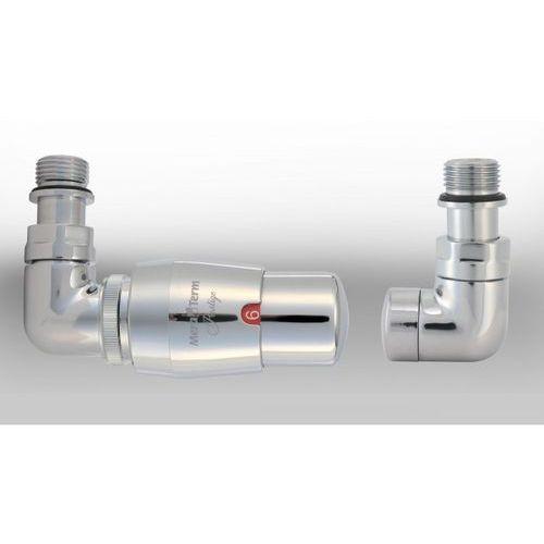 Zestaw instalacyjny vision termostatyczny wersja osiowa lewa chrom wyprodukowany przez Varioterm