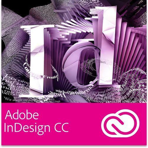 Produkt z kategorii- pozostałe oprogramowanie - Adobe InDesign CC PL dla użytkowników wcześniejszych wersji - Subskrypcja