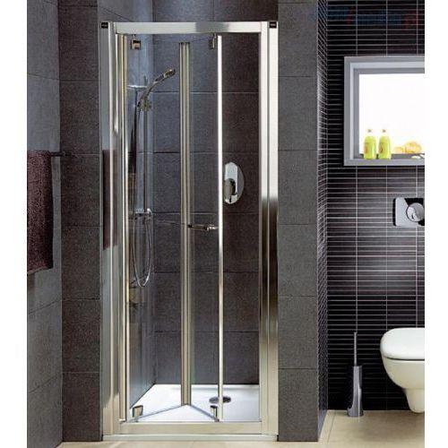 GEO 6 drzwi wnękowe bifold 80 KOŁO Prismatic - GDRB80205003 (drzwi prysznicowe)