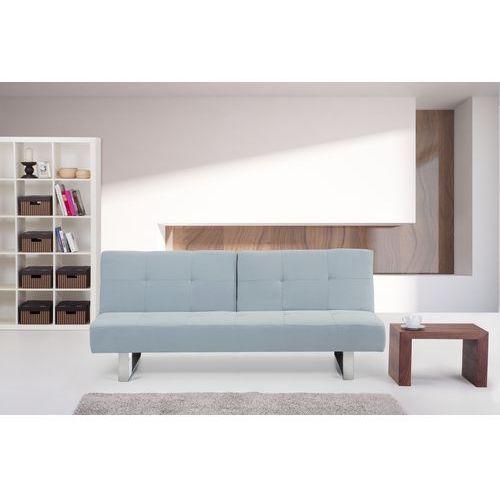 Rozkladana sofa ruchome oparcie - DUBLIN jasny niebieski, Beliani