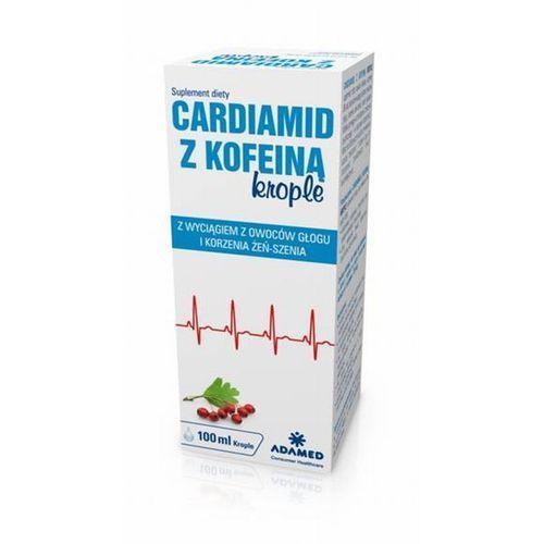 Cardiamid z kofeiną krople 100 ml, postać leku: krople