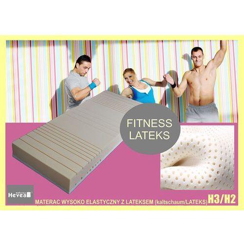 Produkt Materac piankowo-lateksowy  Fitness Latex 120x200, marki Hevea