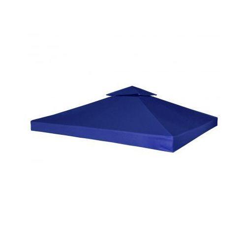 Zadaszenie namiotu ogrodowego 270 g/m² Ciemnoniebieskie 3 x 3 m, produkt marki vidaXL