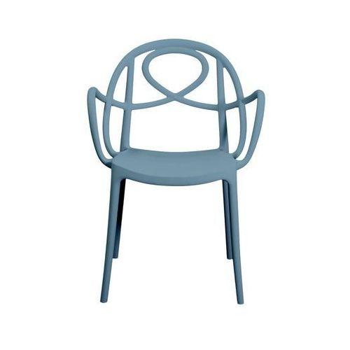 Krzesło ogrodowe Green Etoile P niebieskie ze sklepu All4home