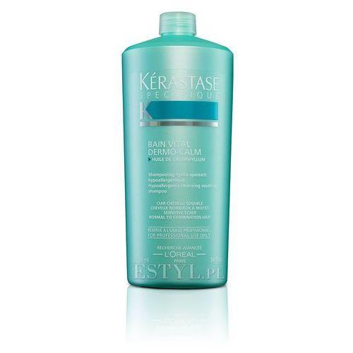 Kerastase Dermo-Calm Vital - Kąpiel witalizująca i kojąca do włosów wrażliwych 1000 ml - produkt z kategorii- odżywki do włosów