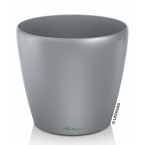 Donica Lechuza Classico srebrna 60   70, produkt marki Produkty marki Lechuza