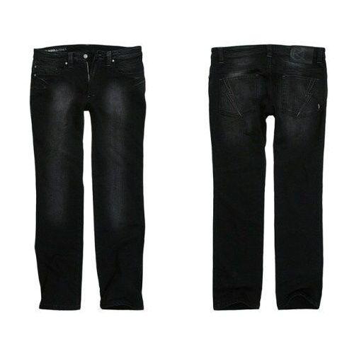 spodnie REELL - Razor Raw (BLK-7417) rozmiar: 28/30 - produkt z kategorii- spodnie męskie