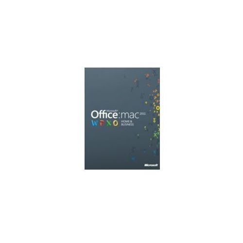 Artykuł Microsoft Office Home & Business ESD 2011 2 MAC 32-bit/64-bit PL z kategorii programy biurowe i narzędziowe
