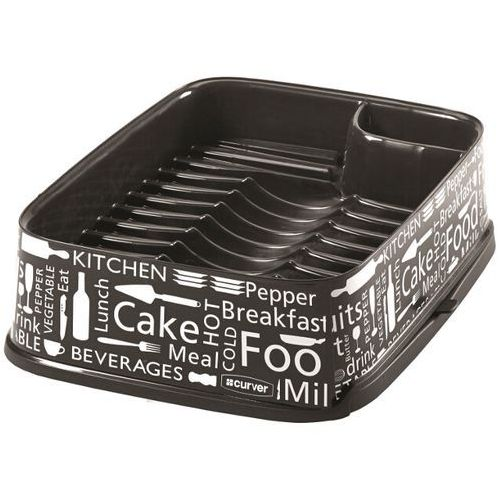 Suszarka do naczyń prostokątna DECO grafit/kuchnia IML 211630 Curver - produkt z kategorii- suszarki do naczyń