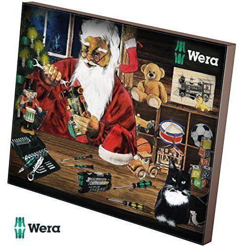 WERA Kalendarz adwentowy - zestaw 24 narzędzi wkrętarskich (05135996001), kup u jednego z partnerów