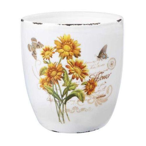 Osłonka ceramiczna Flower 13cm - sprawdź w CitiHome.pl