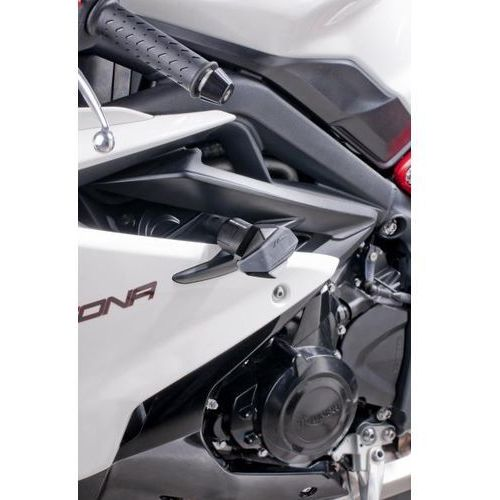 Puig y PUIG Triumph Daytona 675; 2013-2014 (czarne) | TRANSPORT KURIEREM GRATIS z kat. crash pady motocyklowe