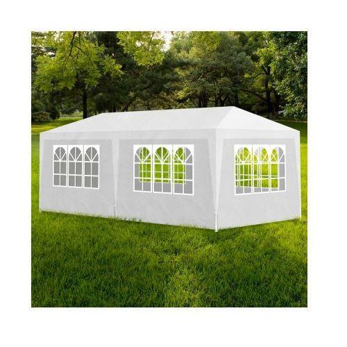 Namiot imprezowy, pawilon ogrodowy, biały (3x6). - produkt z kategorii- namioty ogrodowe