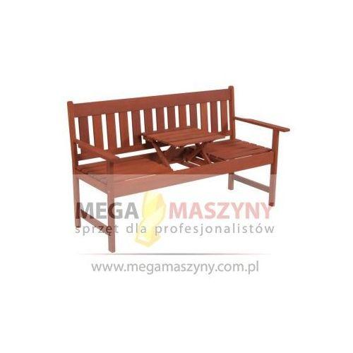 HECHT Ławka z wysuwanym stolikiem Occassional Bench (stół ogrodowy)