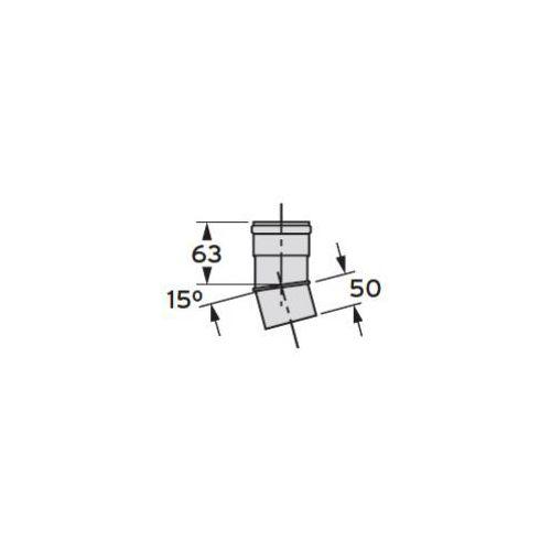 Oferta Vaillant Kolanko 15° (Ø 80) (2 sztuki), PP z kat.: ogrzewanie