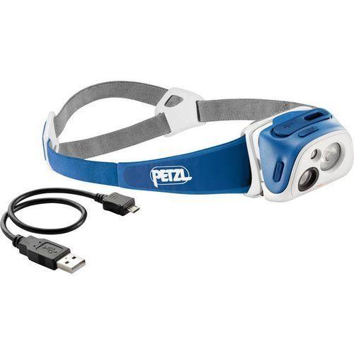 Latarka czołowa Petzl Tikka R+ E92 RB niebieska z kategorii oświetlenie