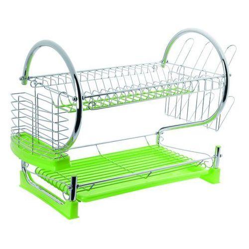 Suszarka do naczyń silikonowa zielona - produkt z kategorii- suszarki do naczyń