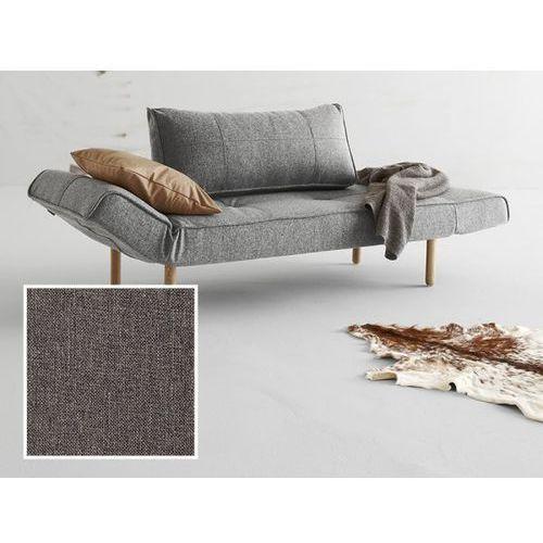 Sofa Zeal szara 216 nogi jasne drewno Stem  740021216-2-740022-1, INNOVATION iStyle