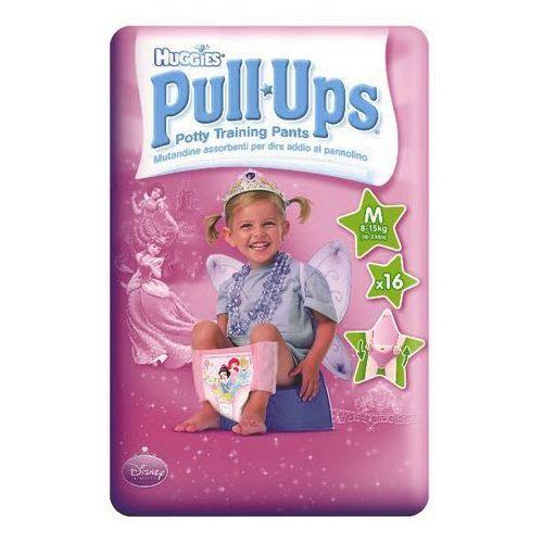 HUGGIES PULL-UPS GIRL M (8-15kg) majteczki 16szt, kup u jednego z partnerów