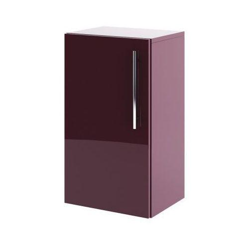 AQUAFORM szafka niska Amsterdam bordo (półsłupek) 0410-202511 - produkt z kategorii- regały łazienkowe
