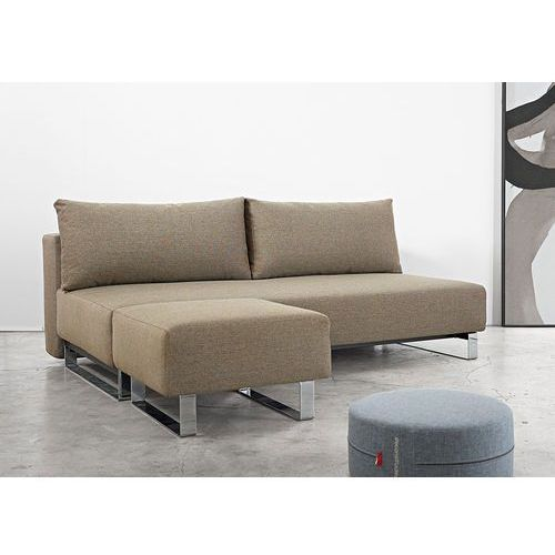 Istyle Supremax Sleek E.L. Sofa Rozkładana, Brązowa Tkanina 522 - 728281522-01