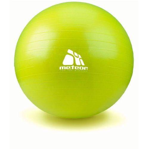 Piłka Fitness  55 cm z pompką pistacjowa, produkt marki Meteor