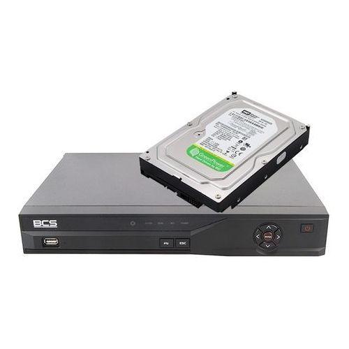 Rejestrator BCS DVR 0801QE-II + Dysk twardy 500 GB AV GP