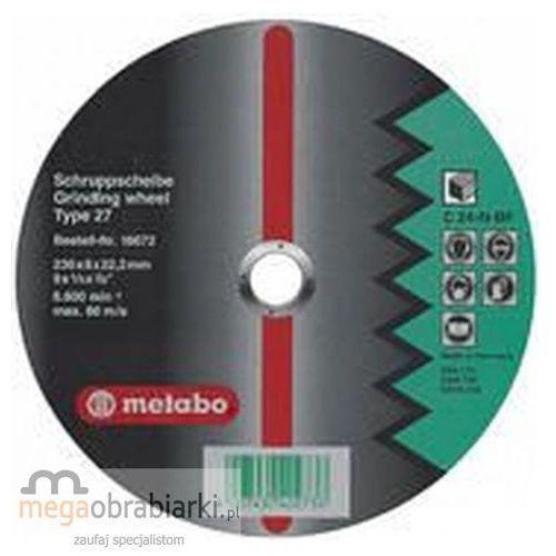 METABO Tarcza ścierna do kamienia 230 mm (10szt) Flexiamant Super C 24-N wypukła RATY 0,5% NA CAŁY ASORTYMENT DZWOŃ 77 415 31 82 ze sklepu Megaobrabiarki - zaufaj specjalistom