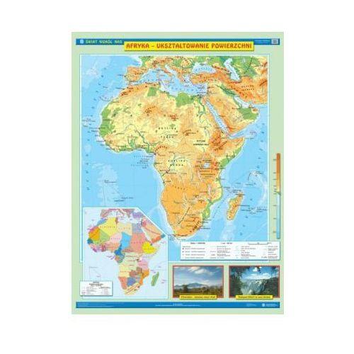 Produkt Afryka. Mapa ścienna Afryki. Ukształtowanie powierzchni / Krajobrazy, marki Nowa Era