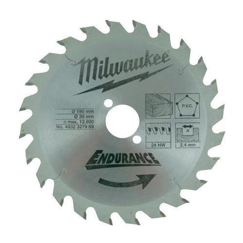 Tarcza tnąca Milwaukee, śr. 184 mm, 48 z/cal, 1 szt. ze sklepu Conrad.pl