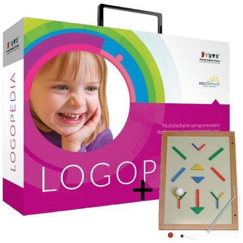 Produkt z kategorii- pozostałe oprogramowanie - eduSensus Logopedia - pakiet poszerzony + Flipper logopedyczny magnetyczny