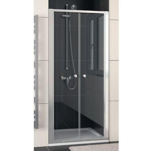 SANSWISS ECO-LINE Drzwi dwuczęściowe 80 ECP208005007 (drzwi prysznicowe)