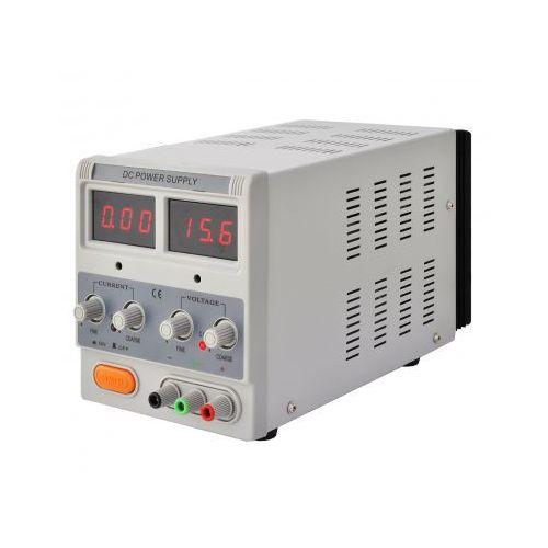 Zasilacz laboratoryjny, pojedyncze wyjście, dwa wyświetlacze 30V 5A z kategorii Transformatory