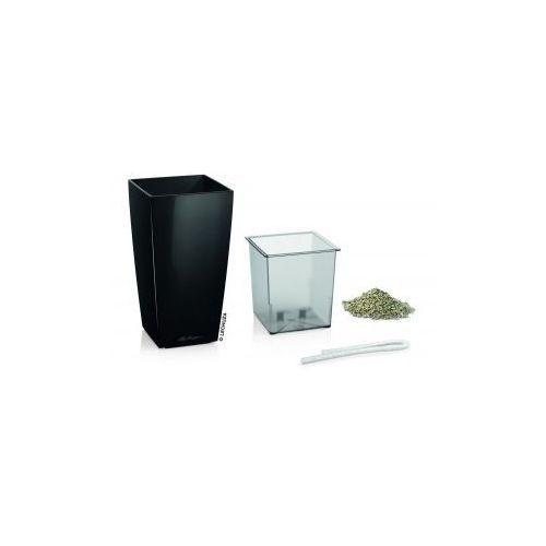 Produkt Donica -  - Mini Cubi - czarna połysk, marki Lechuza