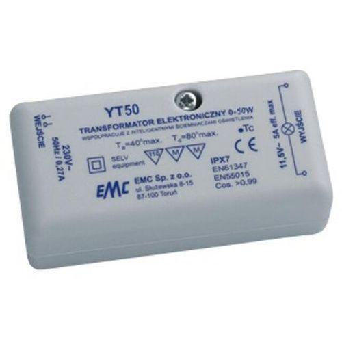 Transformator 1-fazowy elektroniczny 230V 0-50W YT50 EMC_DARMOWA-DOSTAWA_od_999_zł z kategorii Transformatory