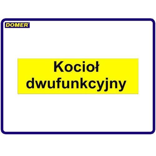 Naklejka - kocioł dwufunkcyjny, towar z kategorii: Kotły gazowe