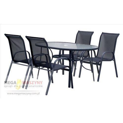 HECHT Zestaw mebli ogrodowych stół + 4 krzesła Ekonomy Set od Megamaszyny - sprzęt dla profesjonalistów