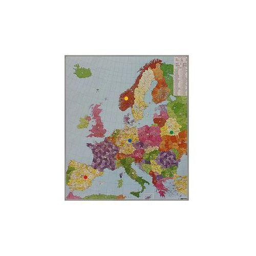 Europa mapa ścienna kody pocztowe na podkładzie magnetycznym 1:3 700 000  & Berndt, produkt marki Freytag