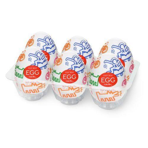 TENGA Masturbator - Jajko Keith Haring Egg Street (1 sztuka) - oferta [253be708f1626430]