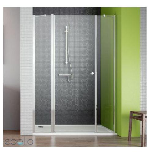 Drzwi wnękowe ze ściankami bocznymi 130 EOS II DWS Radaway (3799455-01R) (drzwi prysznicowe)