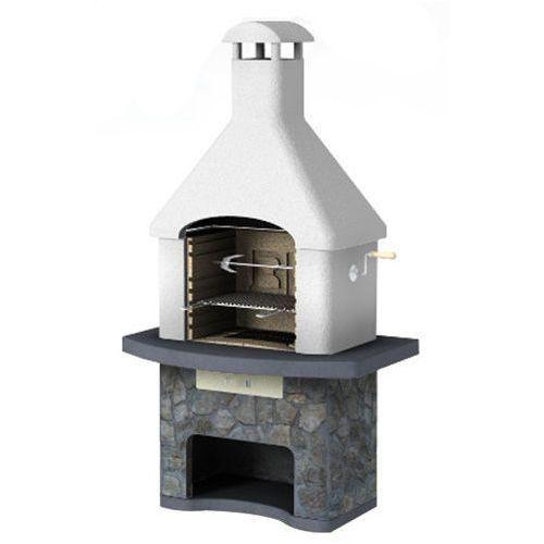 Grill betonowy z wędzarnią Musalla wersja 3 od GrillCenter.com.pl