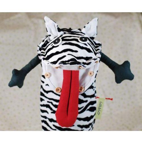 pacynka - zebra (pacynka, kukiełka)